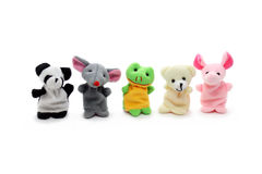 Cuty Finger Puppets Royalty Free Stock Image