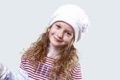 Cuty little girl in winter wear Royalty Free Stock Photo