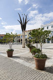 Cuva, Αβάνα, Plaza Vieja Στοκ εικόνα με δικαίωμα ελεύθερης χρήσης