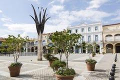 Cuva, Αβάνα, Plaza Vieja Στοκ φωτογραφία με δικαίωμα ελεύθερης χρήσης