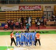 Cuvette 2008-2009 de l'UEFA Futsal Photos libres de droits