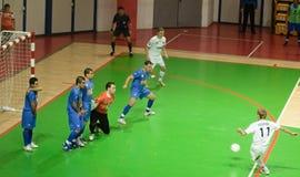 Cuvette 2008-2009 de l'UEFA Futsal Photo libre de droits