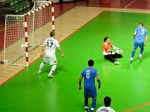 Cuvette 2008-2009 de l'UEFA Futsal Images libres de droits