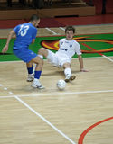 Cuvette 2008-2009 de l'UEFA Futsal Image stock