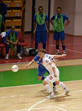 Cuvette 2008-2009 de l'UEFA Futsal Photo stock