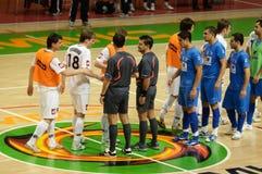 Cuvette 2008-2009 de l'UEFA Futsal Photo stock
