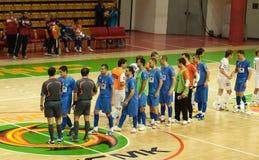 Cuvette 2008-2009 de l'UEFA Futsal Photographie stock