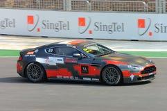 Cuvette 2008 d'Aston Martin Asie à Singapour Prix grand Image libre de droits