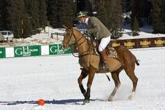 Cuvette 2008 de polo de l'hiver de Cortina Photographie stock libre de droits