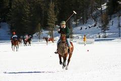 Cuvette 2008 de polo de l'hiver de Cortina Photographie stock