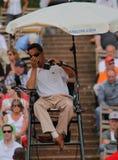Cuvette 2012 d'équipe du monde de cheval de pouvoir de tennis Photo libre de droits
