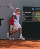 Cuvette 2012 d'équipe du monde de cheval de pouvoir de tennis Photographie stock libre de droits