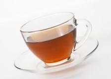 Cuvette avec du thé Photo libre de droits