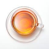 Cuvette avec du thé photo stock
