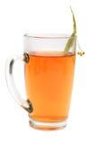 Cuvette avec du thé Image libre de droits