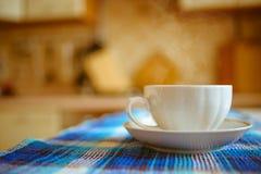 Cuvette blanche de thé Image stock