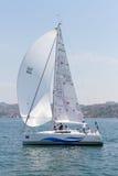 Cuvette Bosphorus 2011 de navigation de ramassage de W Photos stock