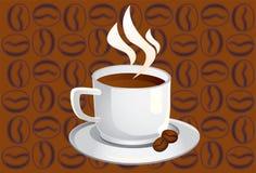 Cuvette-café Photo libre de droits