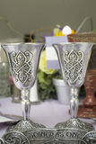 Cuvette celtique de mariage Photo stock