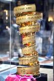 Cuvette d'or de d'Italia de chèques postaux Photos stock