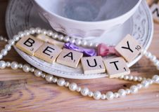 cuvette de beauté Images libres de droits