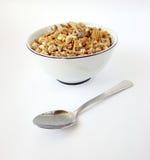 Cuvette de céréales Photographie stock libre de droits