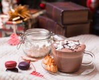 Cuvette de cacao Photographie stock libre de droits