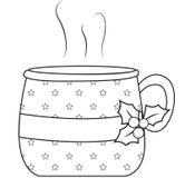 Cuvette de cacao illustration stock