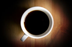 Cuvette de café Image stock
