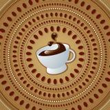 Cuvette de café illustration de vecteur