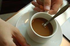 Cuvette de café Image libre de droits