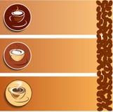 Cuvette de café 2 Images stock
