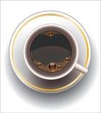 Cuvette de café. Photographie stock