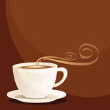 cuvette de café illustration stock