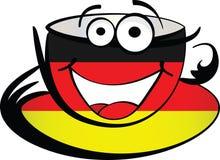 Cuvette de café allemande Photographie stock