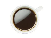 Cuvette de café avec le chemin de découpage Photo stock