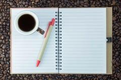 Cuvette de café avec le coeur Photos stock