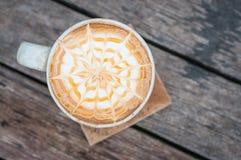 Cuvette de café blanc Photo stock