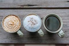 Cuvette de café blanc Photo libre de droits