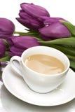 Cuvette de café blanche photo libre de droits