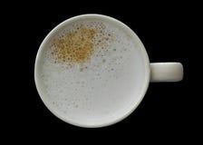 Cuvette de café blanche image stock