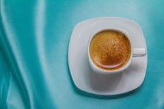Cuvette de café blanche Photos stock