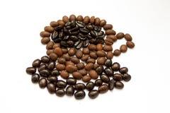 Cuvette de café chaud Images libres de droits