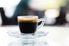 Cuvette de café chaud Image libre de droits