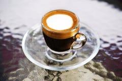 Cuvette de café chaud Photos stock