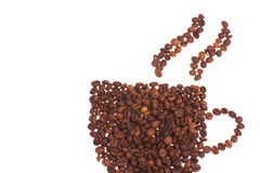 Cuvette de café chaude Image stock