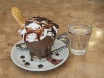 Cuvette de café délicieuse Photos stock