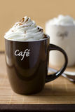 Cuvette de café délicieux Photo stock
