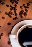 cuvette de café d'haricots photo stock