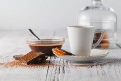 Cuvette de café de café express image libre de droits